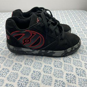 Heelys Boys Low Top Lace Black Red Gray Camo Confe